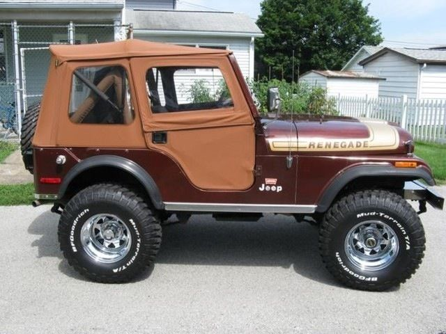 Jeep Renegade Lifted >> Jeep CJ 5, 1976 Renegade Levi Edition, 304 ci engine, 3 speed, Bestop for sale in Bellaire ...