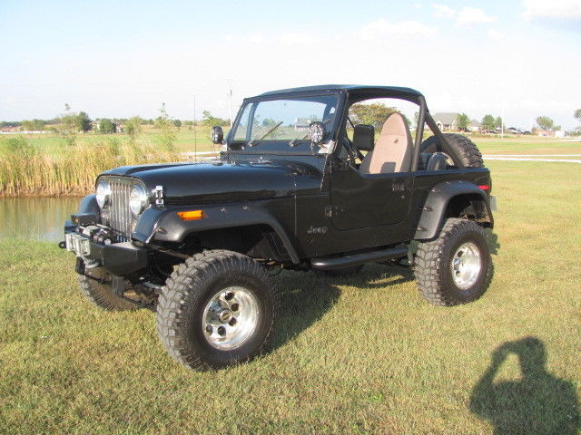 Lifted Jeep Renegade >> Jeep CJ7 V8 Automatic Hard Top Restored Wrangler TJ YJ Lifted 4x4 Convertible for sale: photos ...