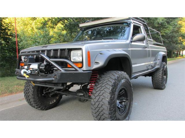 Jeep Comanche Baddest On The Planet 360v8 Fuel Injected Lifted