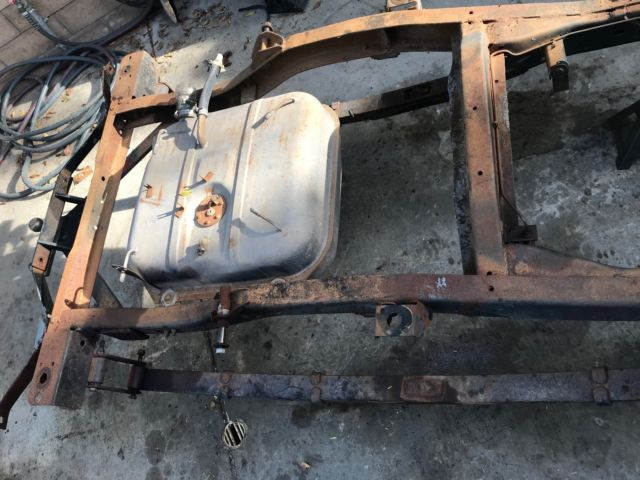 Jeep Commando Frame Lot Gas Tank Shocks Willys
