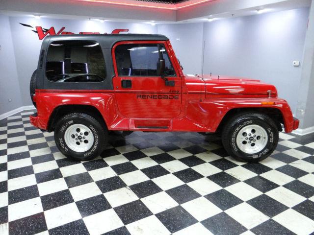Jeep Wrangler RENEGADE 4x4 4 0 ly 67k Miles Hardtop A C