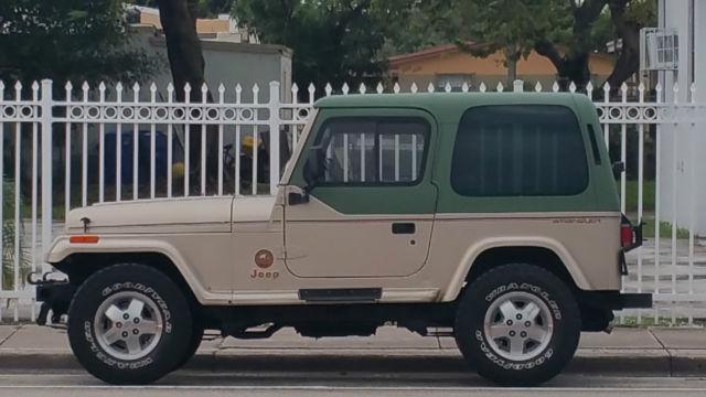 Jeep Wrangler Yj Sahara Edition For Sale In Miami Beach