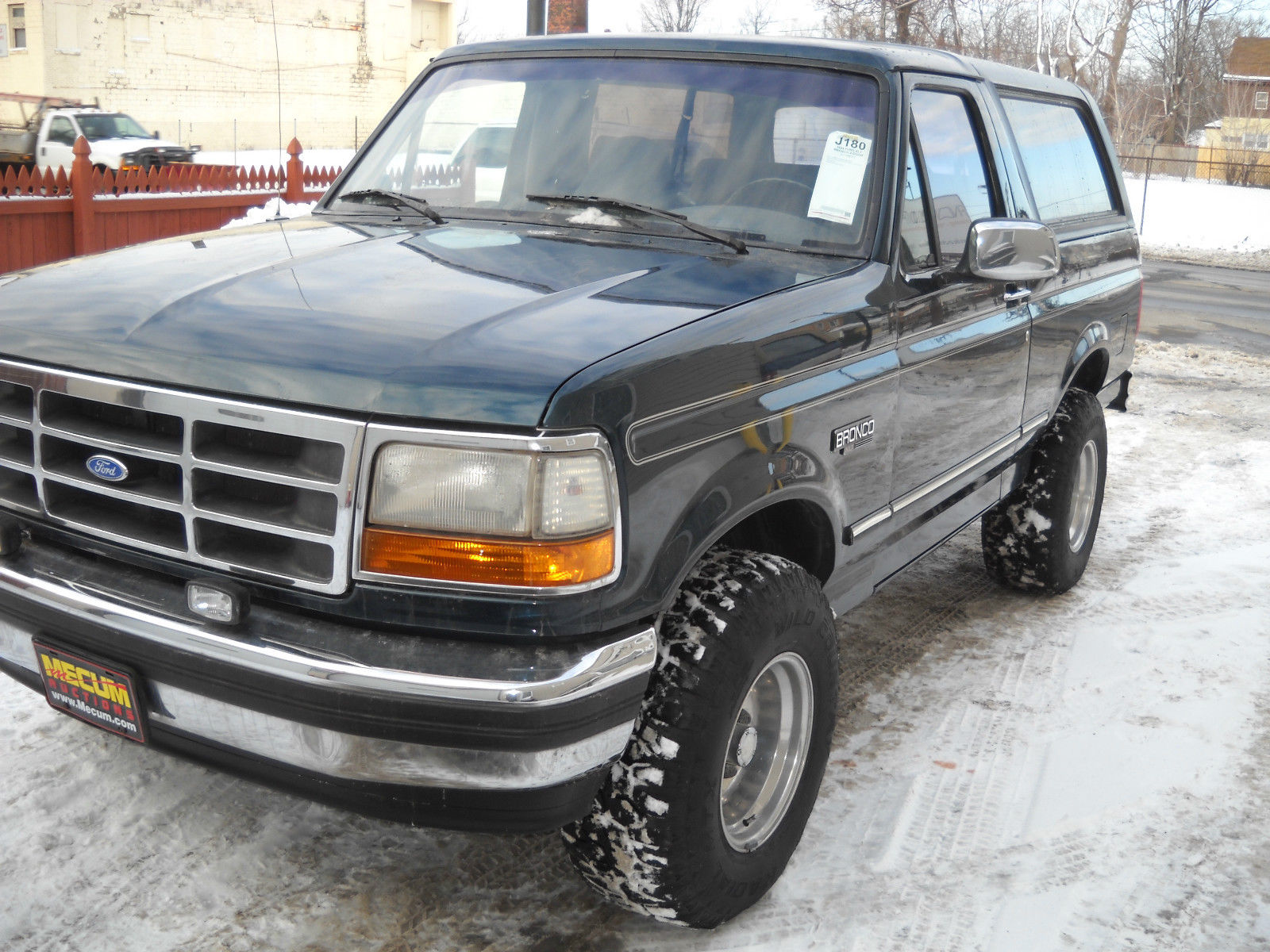 Just In    From Kissimmee Fl Mecum Auction 94 Ford Bronco