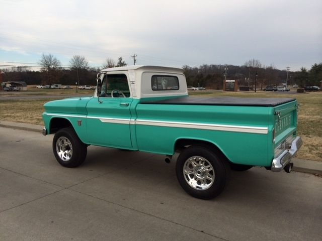 k10 4wd restored body and interior show truck seafoam