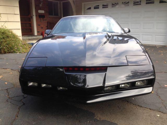 License Plate Scanner >> Knight Rider KITT Replica 1982 Pontiac Firebird Trans Am K ...