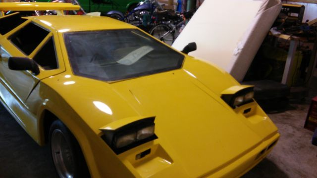Lamborghini Countach Kit Car For Sale In Hoagland  Indiana
