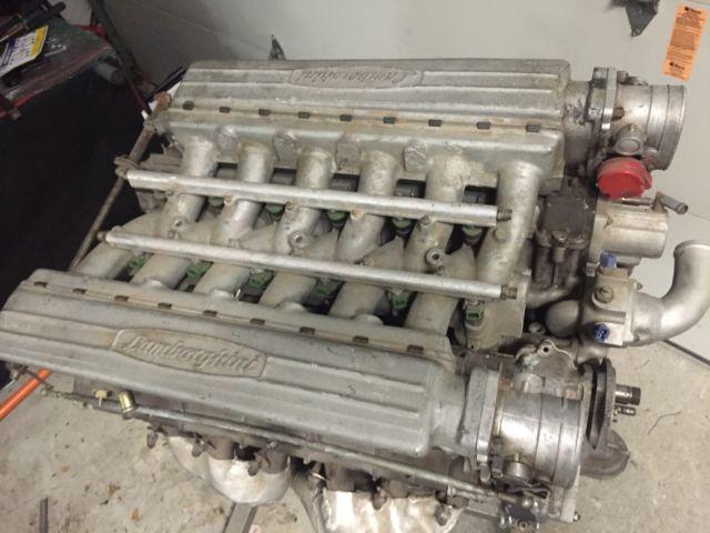 Lamborghini Countach Lm002 V12 Complete Motor Fuel Injected Rebuilt