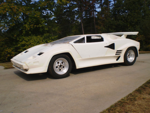 Lamborghini Countach Lp500 Turbo S Replica Lambo 1984 1985