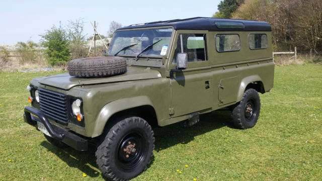 Land Rover Defender For Sale In Usa >> Land Rover Defender 110 1985 2.5 NA Diesel engine Ex UK Military Numbers Match for sale in Tring ...