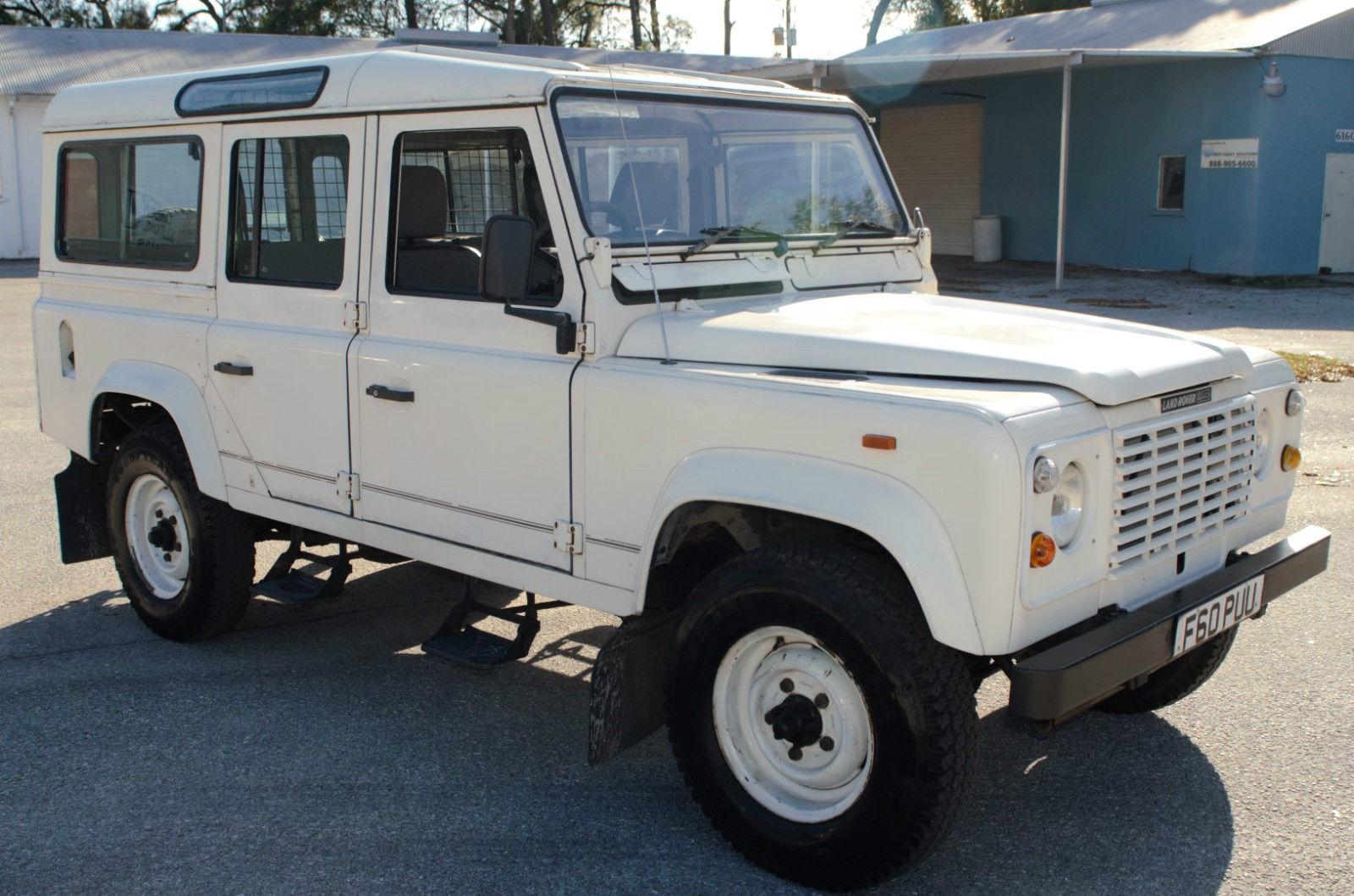 Land Rover Defender 110 v8 White for sale in Bradenton ...