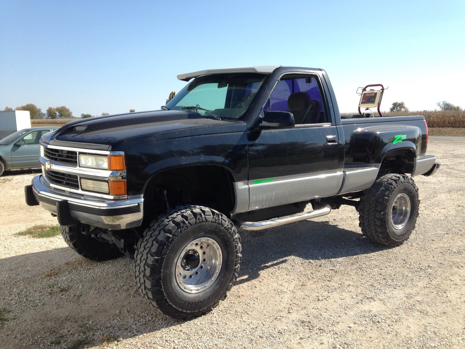 Lifted 1994 Chevy 1500 Step Side Short Bed For Sale In