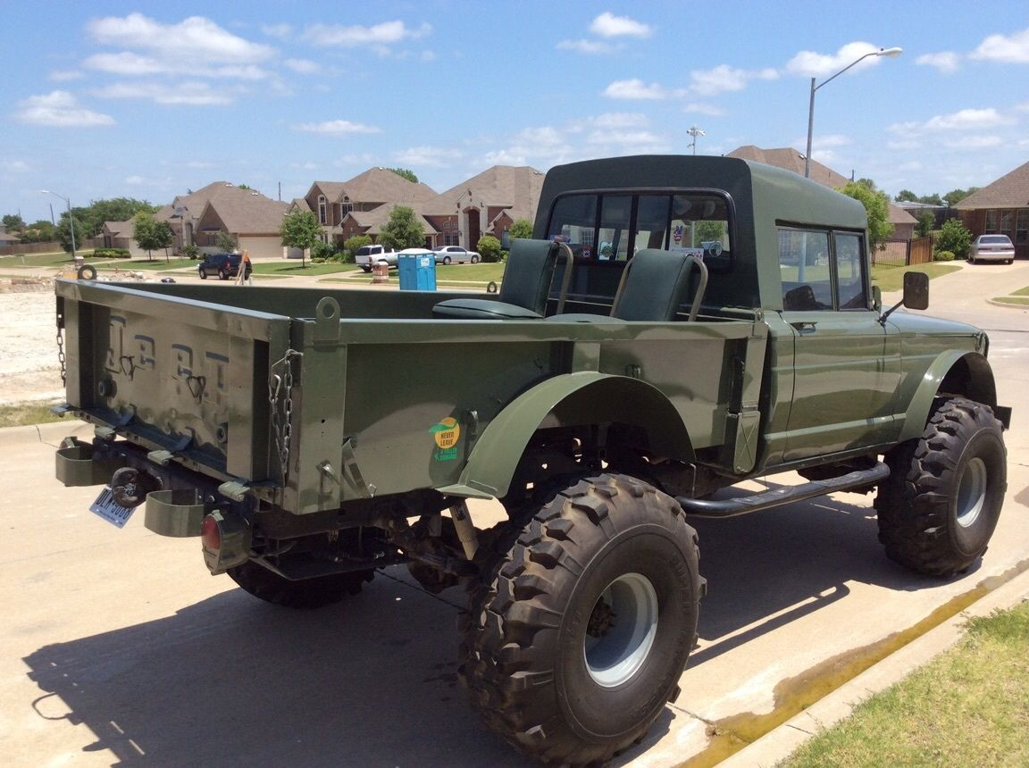 Lifted Jeep Hummer M715 Military Rock Crawler Truck