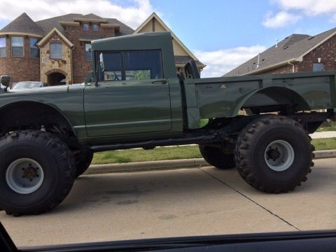 Lifted Jeep Hummer M Military Rock Crawler Truck Kaiser on 1967 Kaiser Jeep M715 Parts