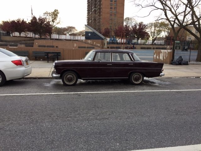 Mercedes 1967 200d fintail for Mercedes benz parts brooklyn