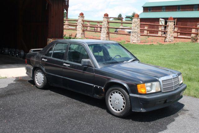 Mercedes benz 190e 2 3 16v manual for Mercedes benz e350 manual