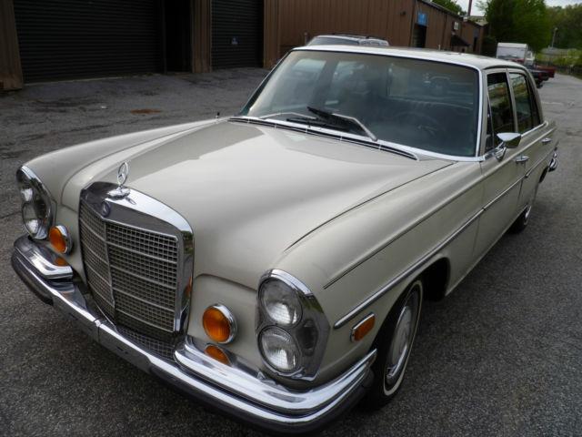 Mercedes benz 1971 280 s for sale in atlanta georgia for Mercedes benz s550 for sale in atlanta ga