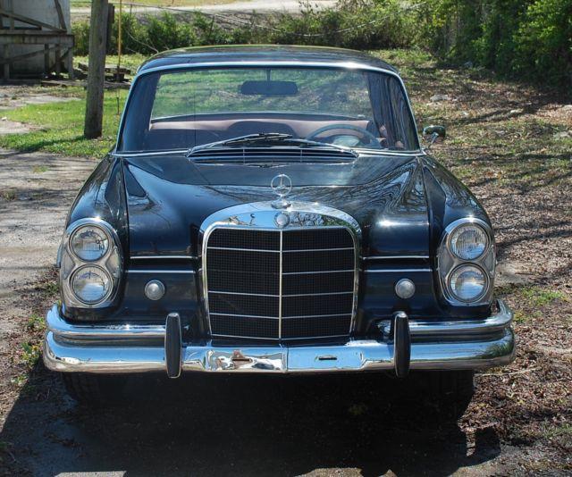 Mercedes benz 220 seb heckflosse 1964 rare for Rare mercedes benz