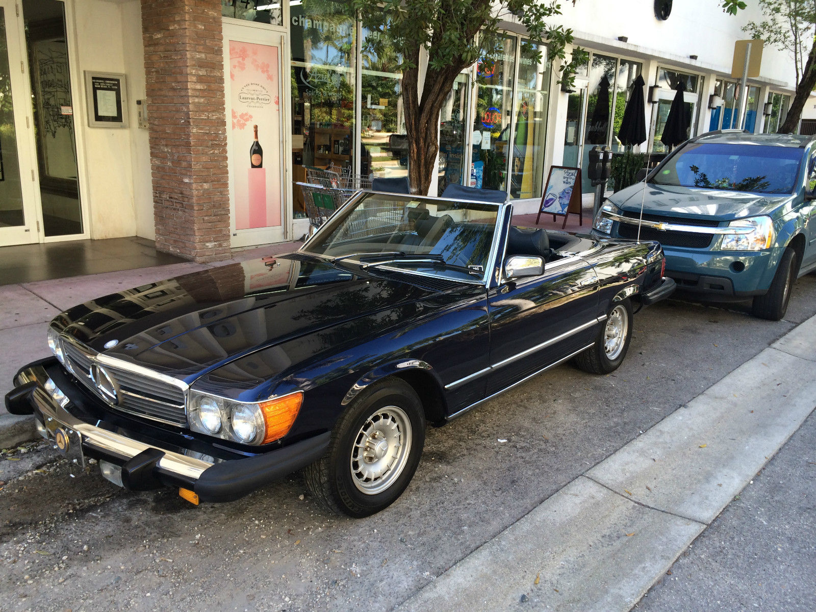 Mercedes Benz 450 Sl 1979 Beautiful Ride Rust Free New Paint Class
