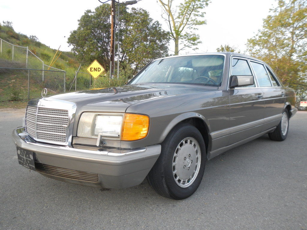 Mercedes benz 560sel w126 saloon 560 sel 420sel 1986 w 126 for 1986 mercedes benz 420 sel