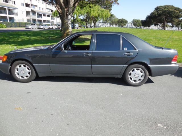 Mercedes benz 600 sel exc calif car pearl black ex for 1992 mercedes benz 600 class