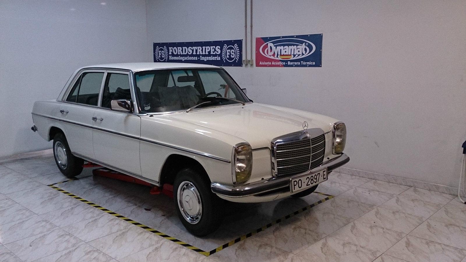 Mercedes Benz W114 230 6 1975 For Sale In Oviedo Spain