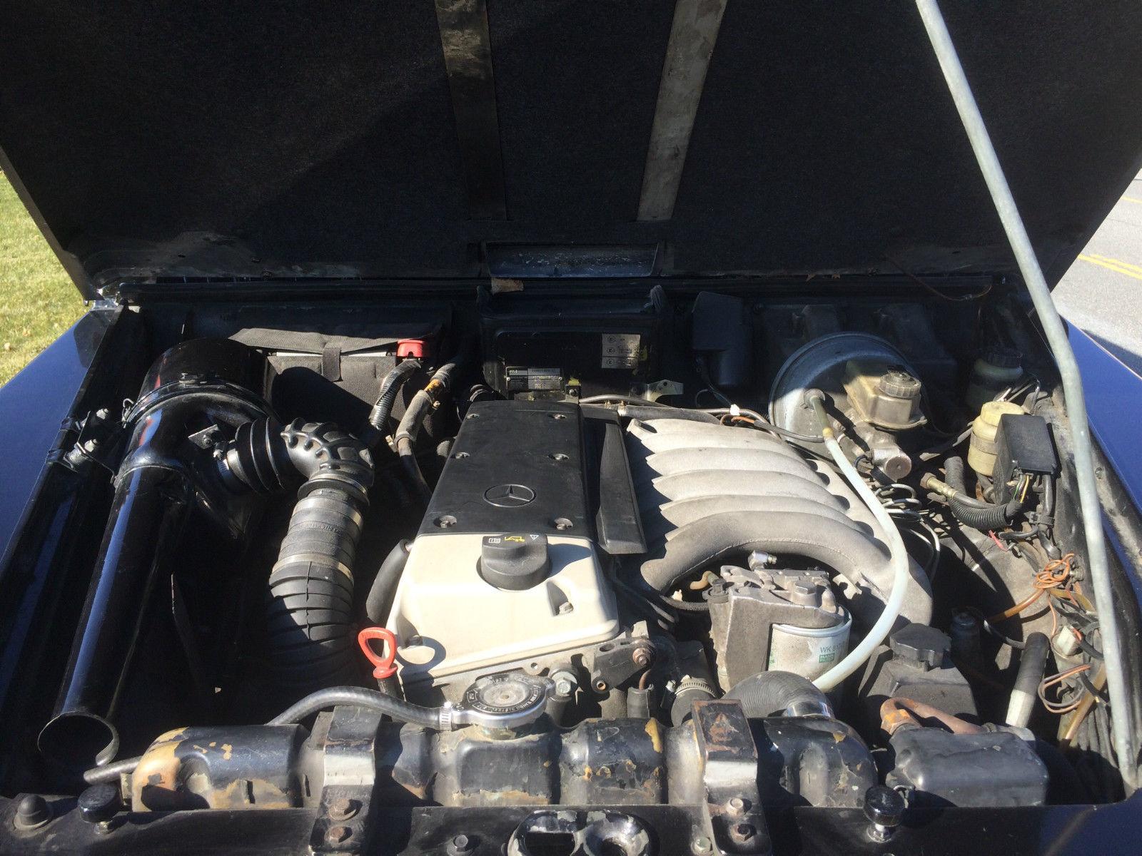 Mercedes G Wagon 3 0 turbo diesel OM606 engine for sale in