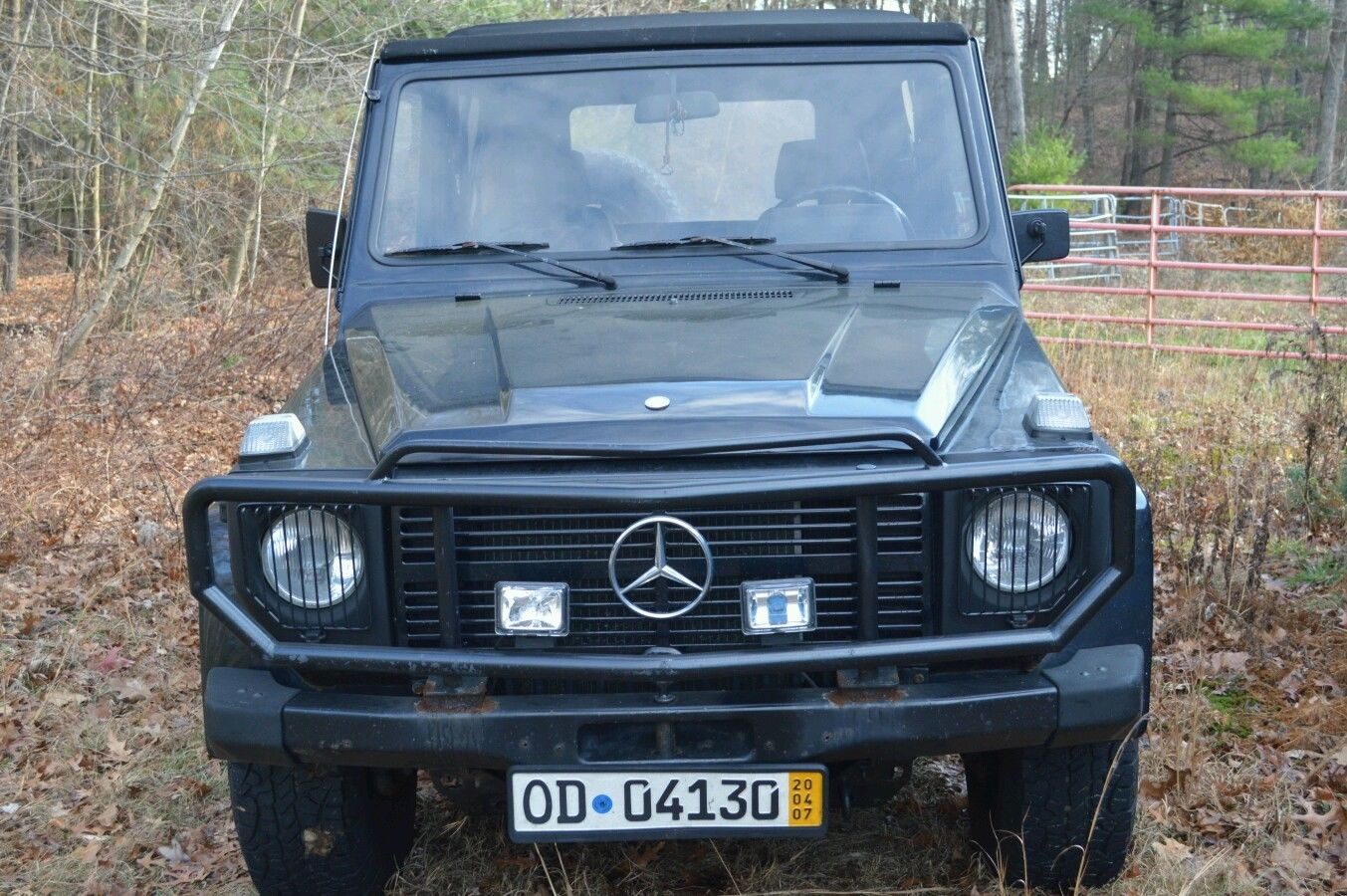 mercedes g wagon convertible diesel w 5 cyl turbo diesel conversion for sale in north scituate. Black Bedroom Furniture Sets. Home Design Ideas