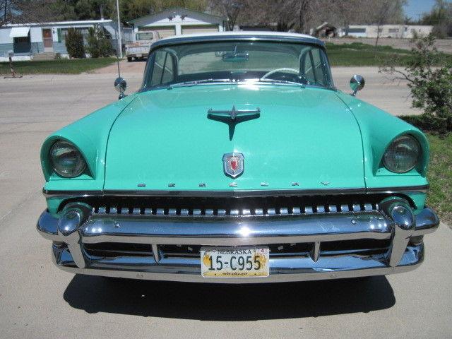 mercury montclair 1955 2 door hardtop car auto green for sale in north platte nebraska united. Black Bedroom Furniture Sets. Home Design Ideas