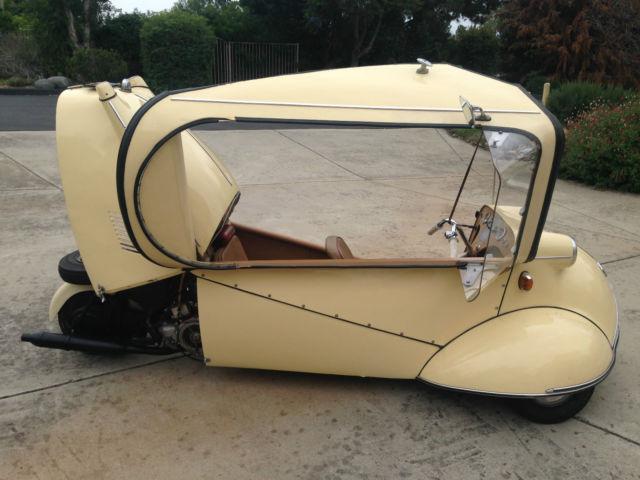 messerschmitt kr175 kr200 3 wheel car microcar 1954 no rust runs and drives for sale in. Black Bedroom Furniture Sets. Home Design Ideas