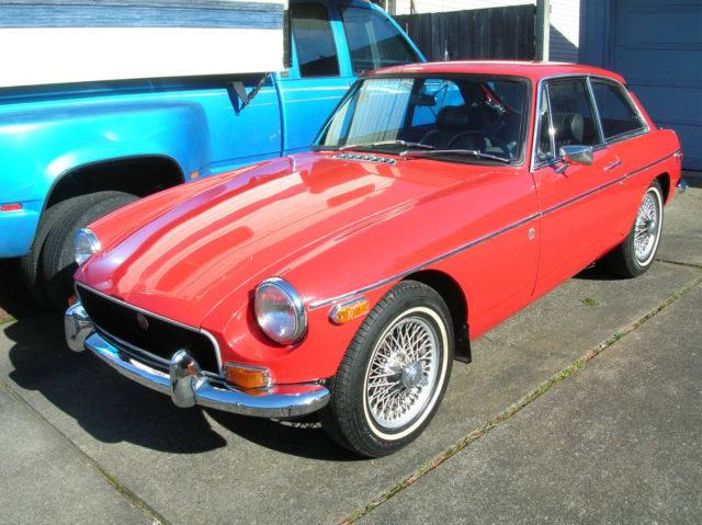 mgb gt 1970 for sale in hillsboro oregon united states for sale photos technical. Black Bedroom Furniture Sets. Home Design Ideas