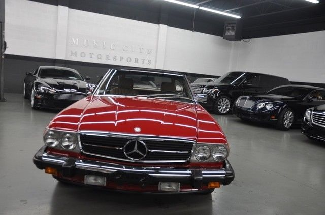 1988 Mercedes Benz 560sl Roadster For Sale Sl Market