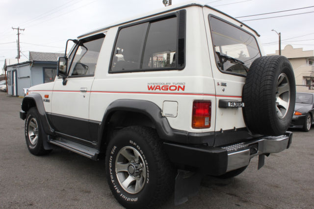 Seattle Car Auction >> Mitsubishi Pajero-Montero 1989 turbo diesel manual for sale: photos, technical specifications ...