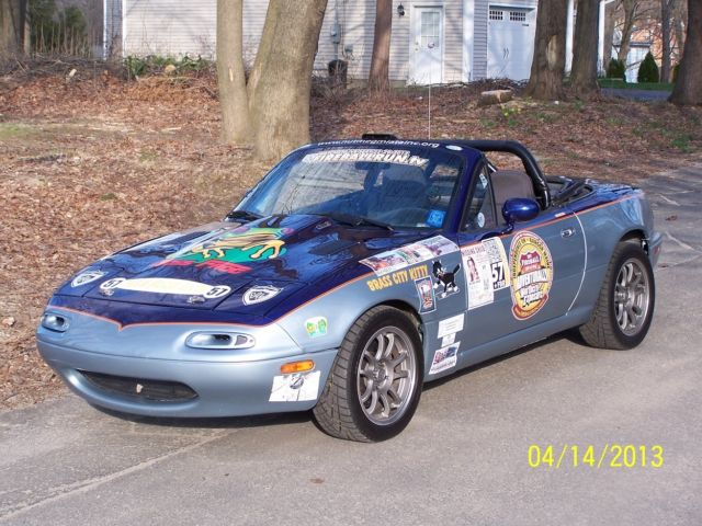 Monster Miata LS1 V8 powered MX5 touring car for sale in