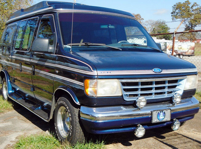 Conversion Van Parts >> Nice Ford E150 1992 Conversion Van Mark 3 00 In New Parts W Receipts