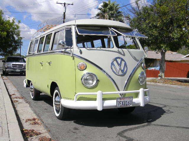 Nice original german 1967 vw 13 window deluxe split for 1967 split window vw bus