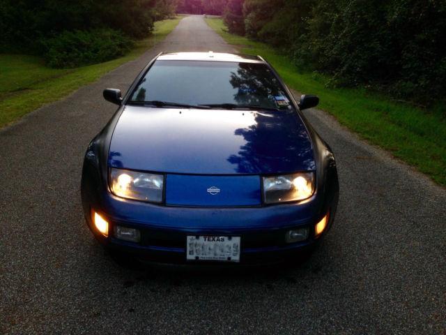 Nissan 300zx Fairlady Sports Car Blue Black Unique Classic