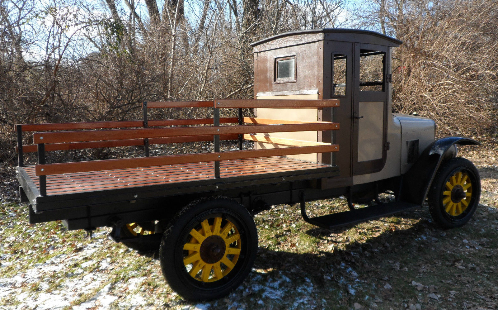 No Reserve 1924 International Stake Bed Speed Truck For