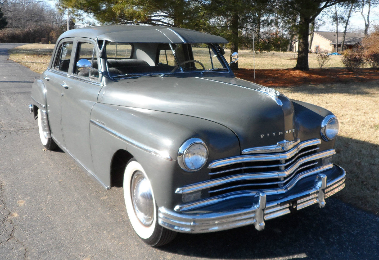 No reserve 1949 plymouth special deluxe for sale in for 1949 plymouth 4 door