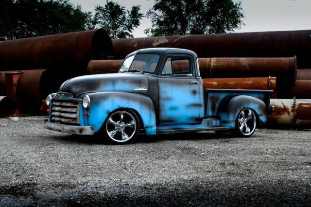 no reserve 1953 chevrolet 3100 c10 shop truck patina 5