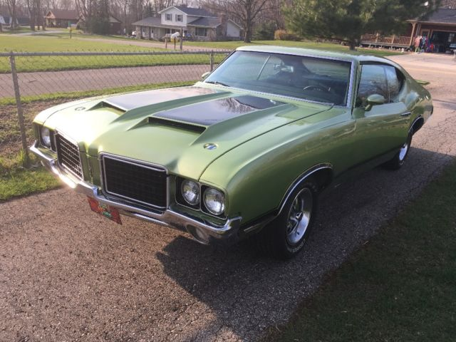 What Color Is Transmission Fluid >> No reserve 72 cutlass s w30 z28 trans am hood like a ...