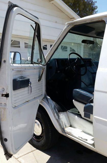 No Reserve No Rust V8 350 5 7l Chevy G20 Cargo Panel Sport