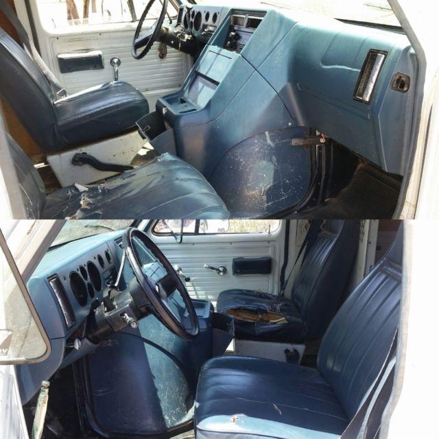 41c2e0b4ad No Reserve No Rust V8 350 5.7L Chevy G20 Cargo Panel Sport Van Runs ...