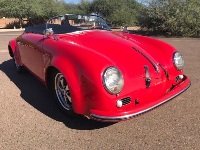 No Reserve Porsche 356 Speedster Replica Convertible Kit