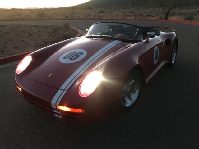 No Reserve Porsche 359 Kit Car Replica 959 Race Car Vw Bug