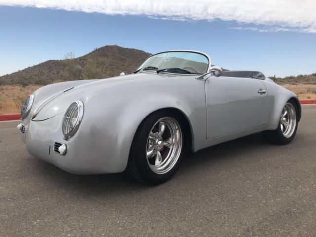 no reserve vw bug 356 speedster replica kit car volkswgen