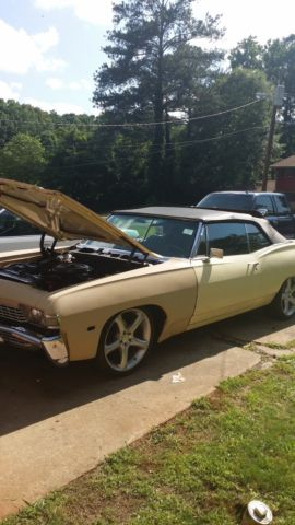 Numbers Matching 1968 Chevy Impala Ss Convertible 327 For Sale In