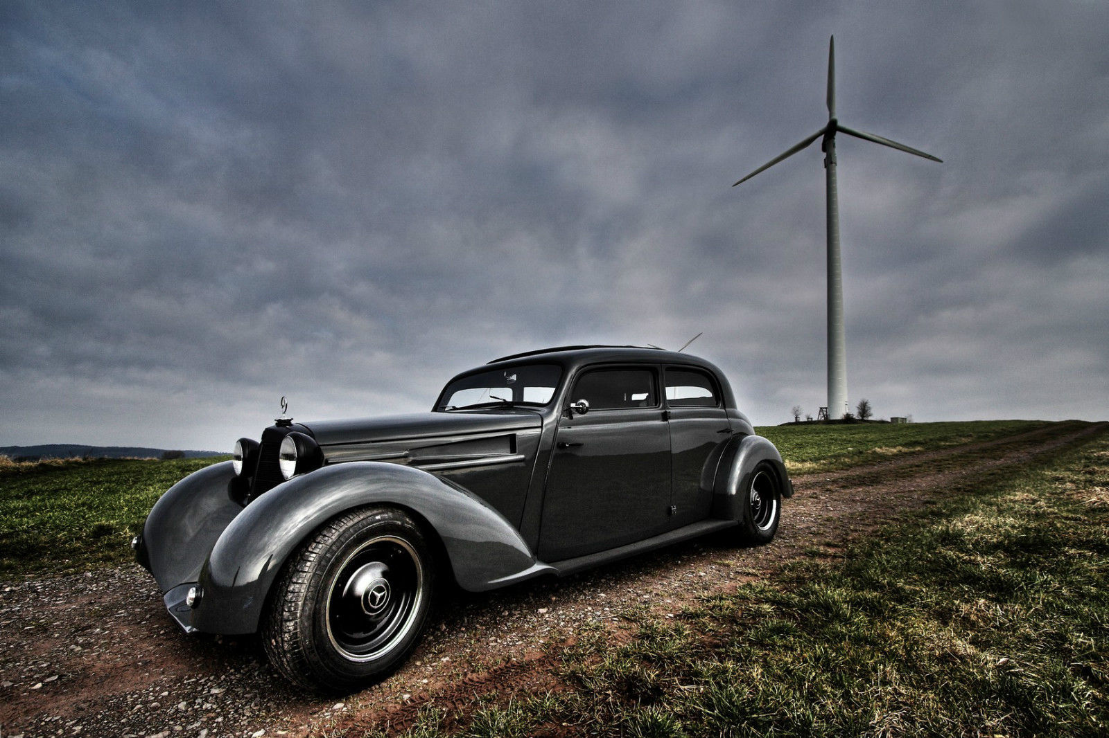 One Of A Kind Mercedes 170 Hot Rod German Built For
