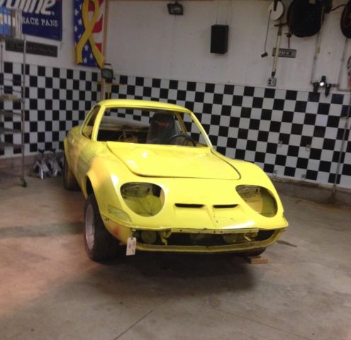 Vintage race car restoration