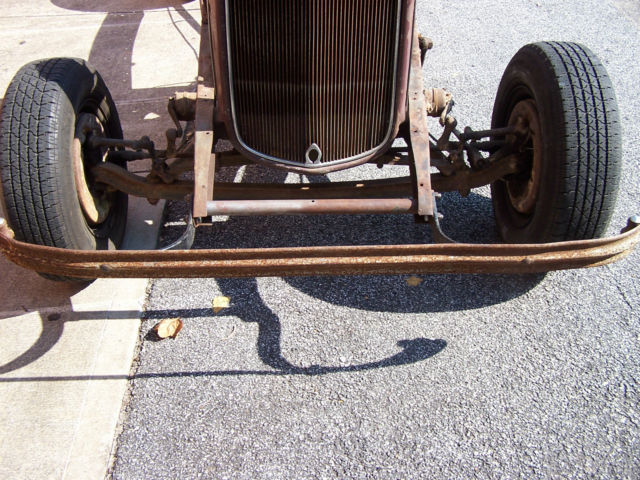 Original Ford Chassis Frame Suspension Parts Flathead Grille Roller