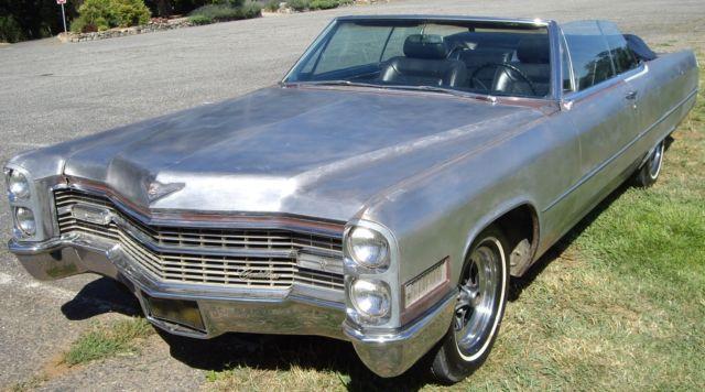 Original California 1966 Cadillac Coupe DeVille ...